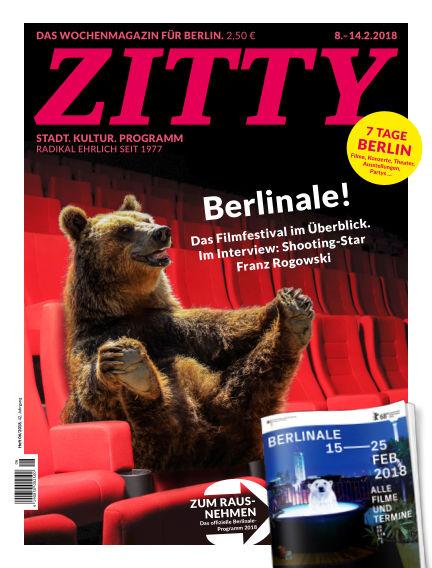 ZITTY Das Berlin-Magazin für 14 Tage und die Nächte February 05, 2018 00:00