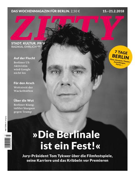 ZITTY Das Berlin-Magazin für 14 Tage und die Nächte February 13, 2018 00:00