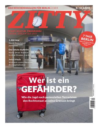 ZITTY Das Berlin-Magazin für 14 Tage und die Nächte 10/2018