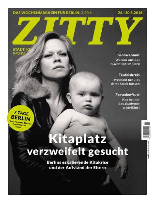 ZITTY Das Berlin-Magazin für 14 Tage und die Nächte 21/2018