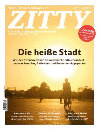 ZITTY Das Berlin-Magazin für 14 Tage und die Nächte 26/2018