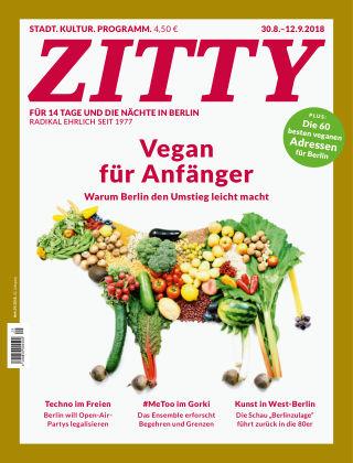 ZITTY Das Berlin-Magazin für 14 Tage und die Nächte 29/2018