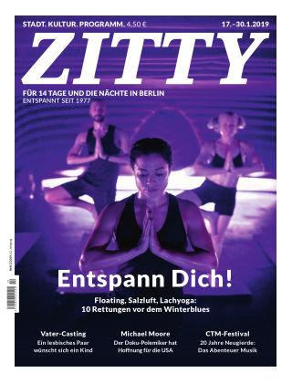 ZITTY Das Berlin-Magazin für 14 Tage und die Nächte 2/2019