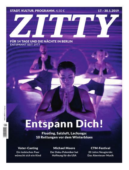 ZITTY Das Berlin-Magazin für 14 Tage und die Nächte January 15, 2019 00:00