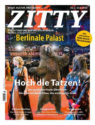 ZITTY Das Berlin-Magazin für 14 Tage und die Nächte 3/2019