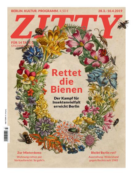 ZITTY Das Berlin-Magazin für 14 Tage und die Nächte March 27, 2019 00:00