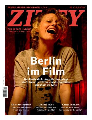 ZITTY Das Berlin-Magazin für 14 Tage und die Nächte 8/2019