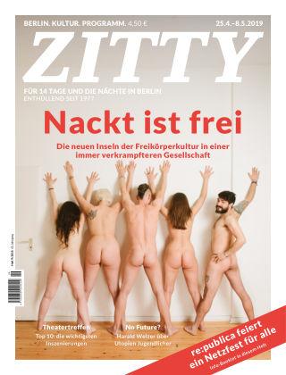 ZITTY Das Berlin-Magazin für 14 Tage und die Nächte 09/2019