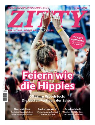 ZITTY Das Berlin-Magazin für 14 Tage und die Nächte 10/2019