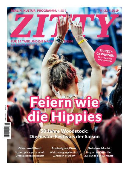 ZITTY Das Berlin-Magazin für 14 Tage und die Nächte May 08, 2019 00:00