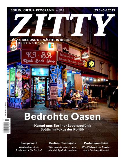 ZITTY Das Berlin-Magazin für 14 Tage und die Nächte May 22, 2019 00:00