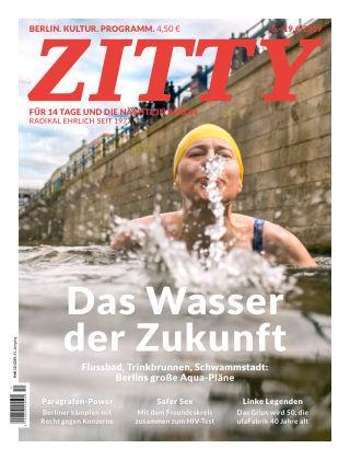 ZITTY Das Berlin-Magazin für 14 Tage und die Nächte 12/2019