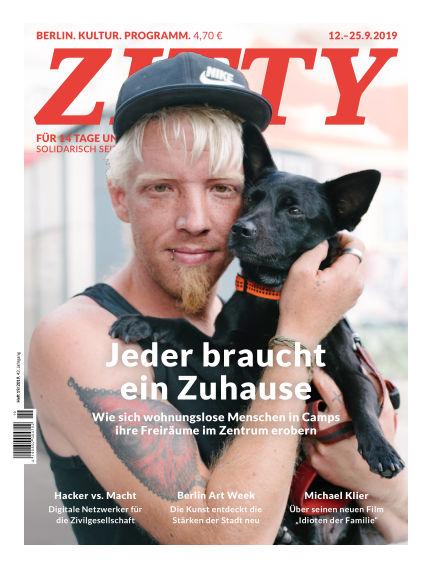 ZITTY Das Berlin-Magazin für 14 Tage und die Nächte September 11, 2019 00:00