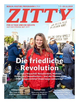 ZITTY Das Berlin-Magazin für 14 Tage und die Nächte 23/2019