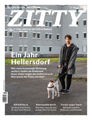 ZITTY Das Berlin-Magazin für 14 Tage und die Nächte 25/2019