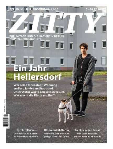 ZITTY Das Berlin-Magazin für 14 Tage und die Nächte December 04, 2019 00:00