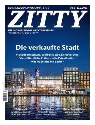 ZITTY Das Berlin-Magazin für 14 Tage und die Nächte 03/2020