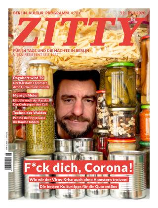 ZITTY Das Berlin-Magazin für 14 Tage und die Nächte 6/2020