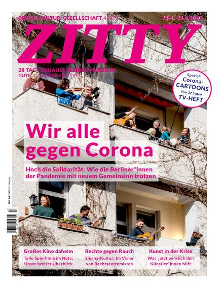 ZITTY Das Berlin-Magazin für 14 Tage und die Nächte
