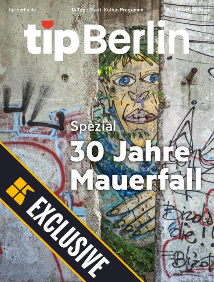 tip Berlin Readly Exclusive November 02, 2019 00:00