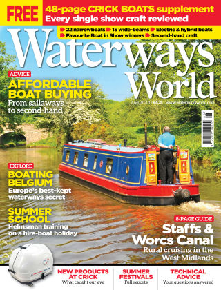Waterways World August 2017