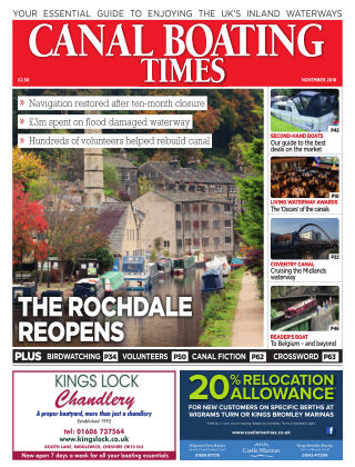 Canal Boating Times November 2016