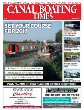 Canal Boating Times February 2017