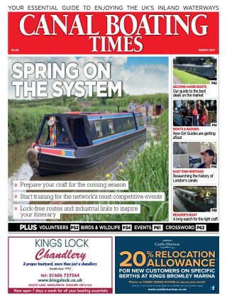 Canal Boating Times March 2017
