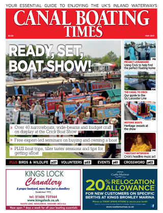 Canal Boating Times May2017