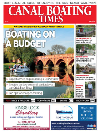 Canal Boating Times June2017