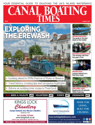 Canal Boating Times August2017