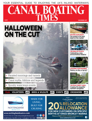 Canal Boating Times November2017