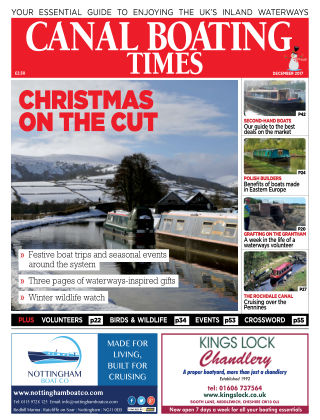 Canal Boating Times December 2017