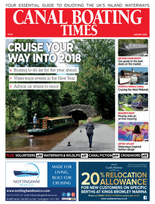 Canal Boating Times January2018