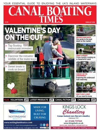Canal Boating Times February2018