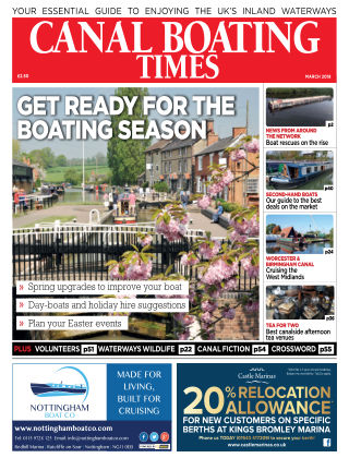 Canal Boating Times March2018