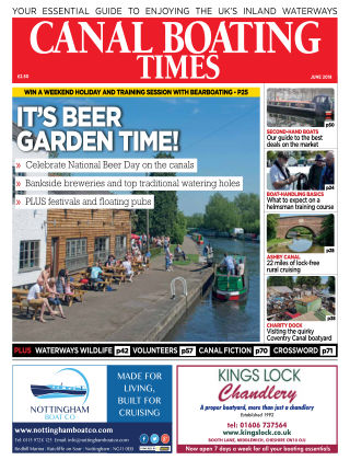 Canal Boating Times June2018