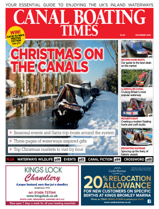 Canal Boating Times December2018