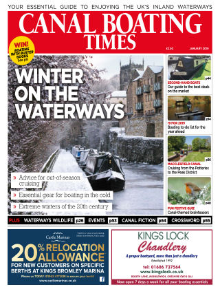Canal Boating Times January2019