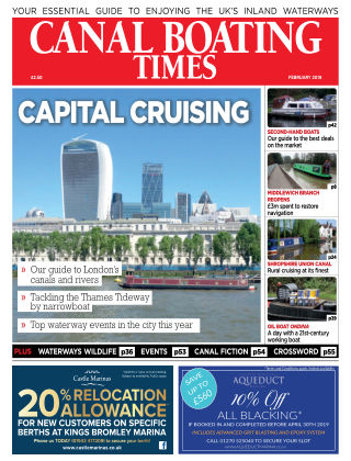 Canal Boating Times February2019