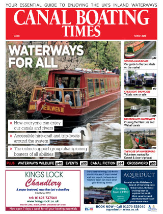 Canal Boating Times March2019