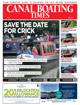 Canal Boating Times April2019