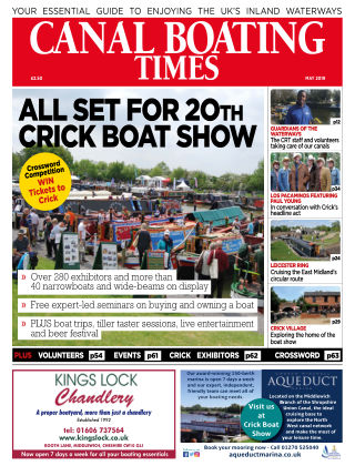 Canal Boating Times May2019