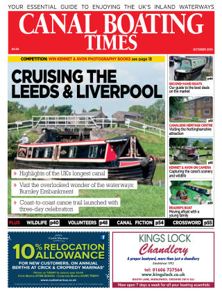 Canal Boating Times October2019