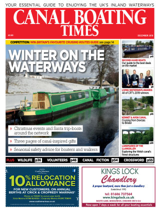 Canal Boating Times December2019