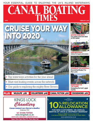 Canal Boating Times February2020