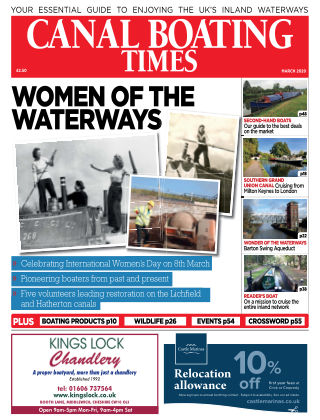 Canal Boating Times March2020