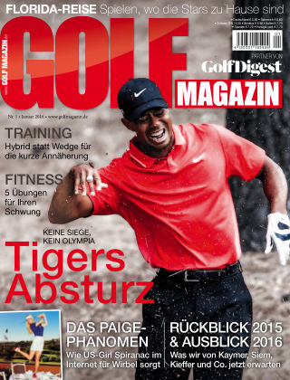 Golf Magazin Nr. 1 2016