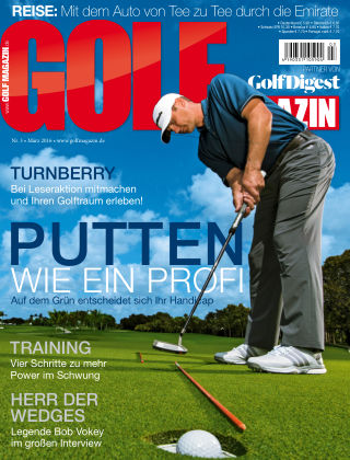 Golf Magazin Nr. 3 2016
