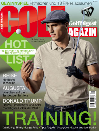 Golf Magazin NR. 4 2016
